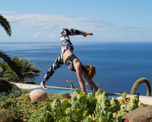 Hüftöffner im Yoga Urlaub