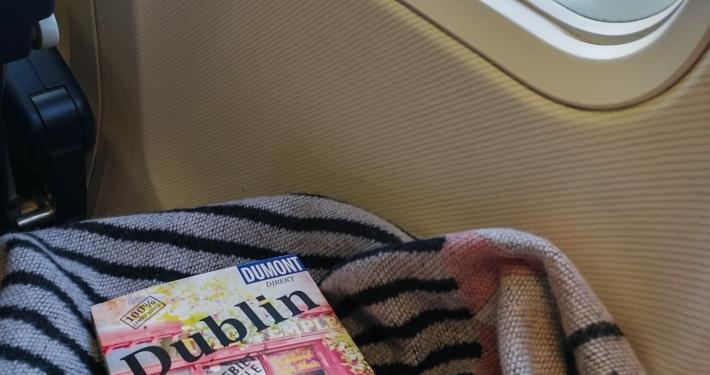 Flug nach Dublin