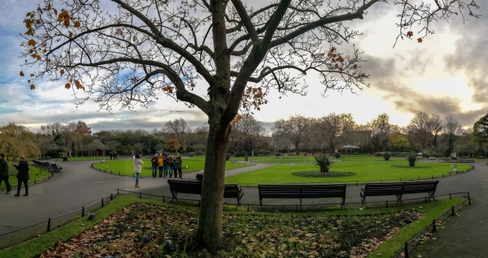 Saint Stephen's Green Dublin