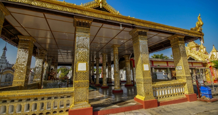 Mandalay Kuthodaw Pagode
