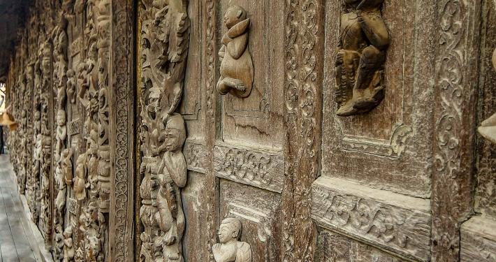 Mandalay Shwenandaw Kloster