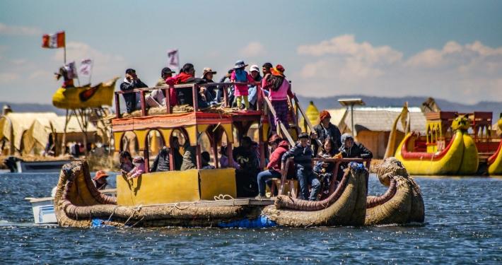 Schwimmende Inseln Puno