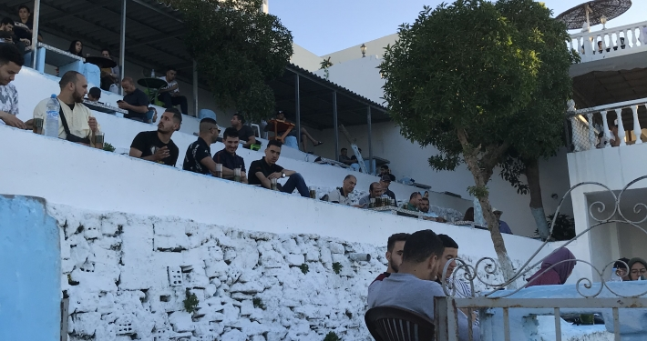 Das Café Hafa Tanger