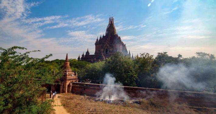 Htilominlo Tempel Bagan