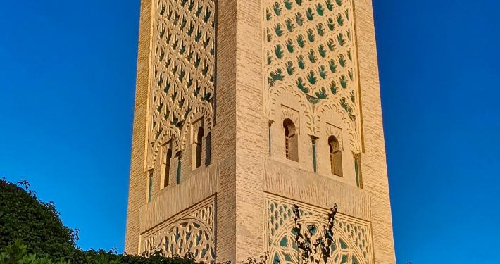 Minarett in Marrakesch