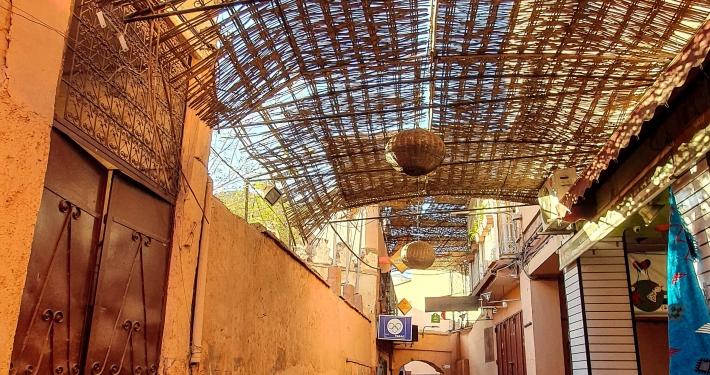 Gasse in Marrakesch