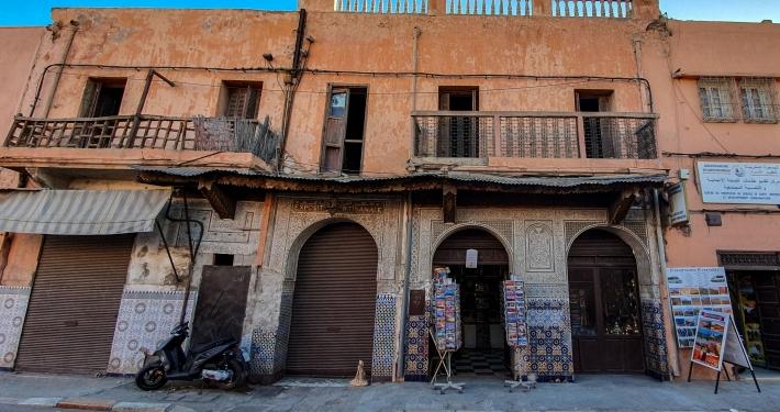 Altes Haus in Marrakesch