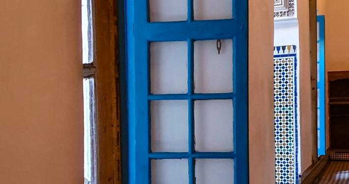 Fenster im Bahia Palast