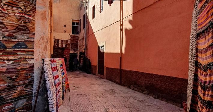 Teppiche in Marrakesch