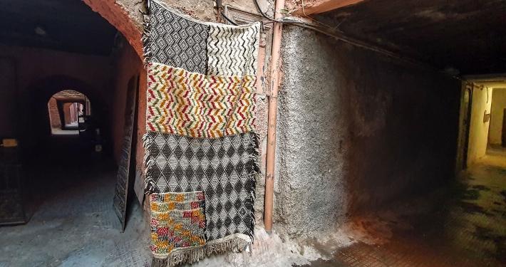 Sackgasse in Marrakesch