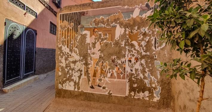 Streetart in in Marrakesch