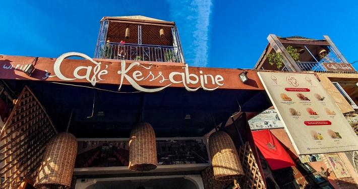 Café Kessabine Marrakesch