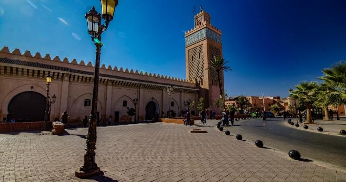 Moulay El Yazid Moschee Marrakesch