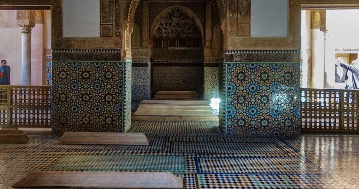 Saadier Gräber Marrakesch