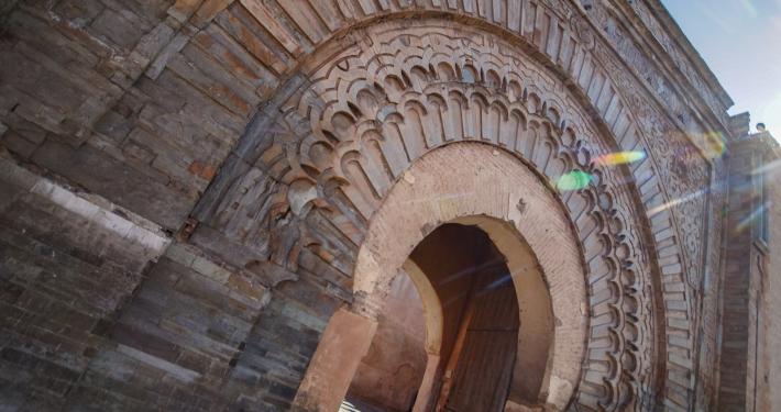 Torbogen Bab Agnaou Marrakesch
