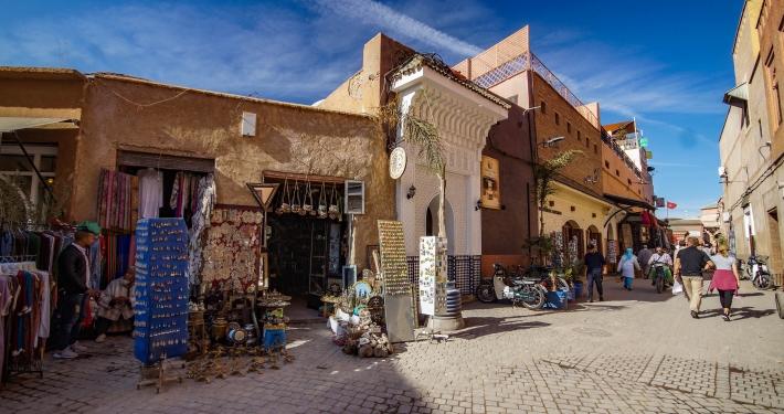 Souvenirläden in Marrakesch