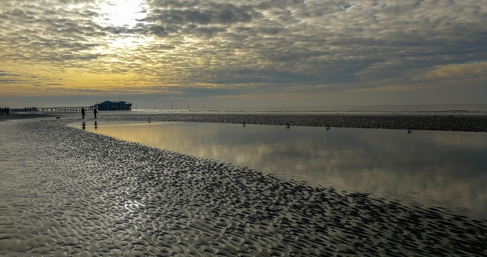 St Peter Ording im Winter