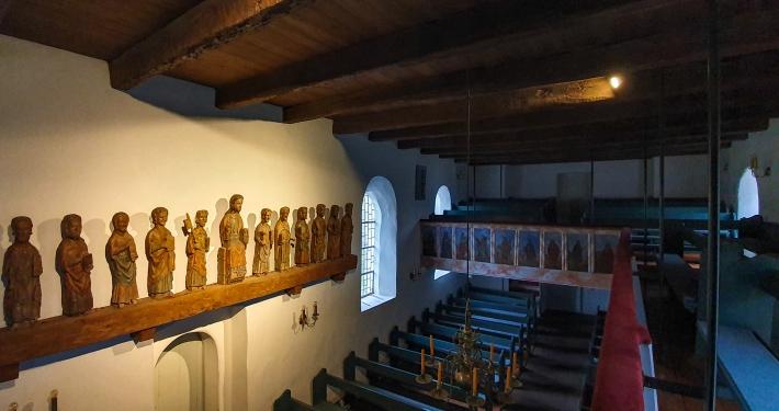 St. Clemens Kirche Nebel Amrum