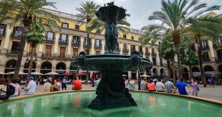 Plaça Reial Barcelona