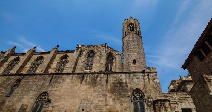 Basilica de Santa Maria de Pi Barcelona