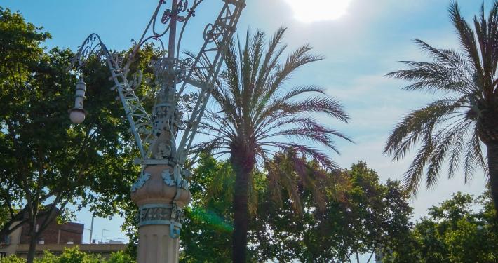 Promenade Passeig de Lluis Companys Barcelona