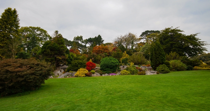 Garten beim Muckross House im Killarney National Park
