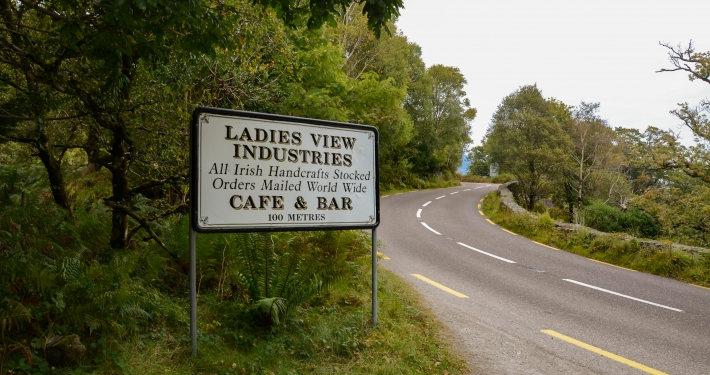 Ladies View Ausblick auf den Killarney National Part