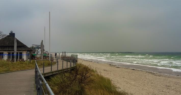Strandpromenade Scharbeutz