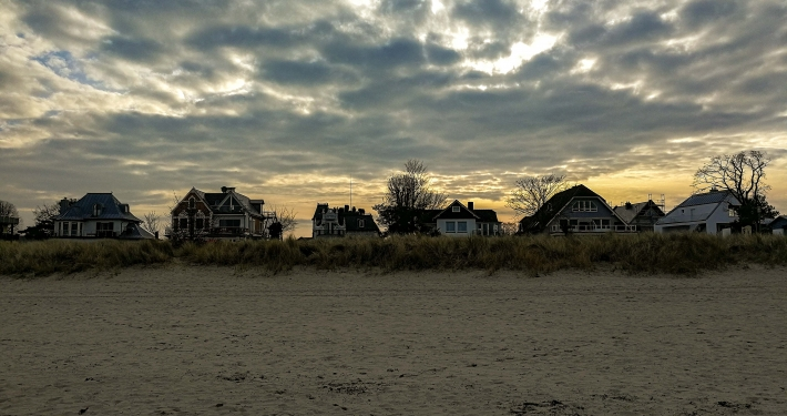 Strand in Niendorf