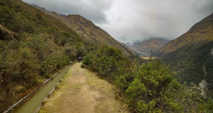 Aussicht vom Salkantay Trek