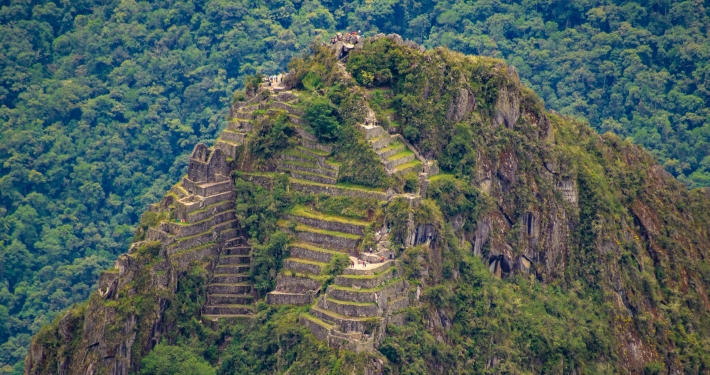 Blick auf den Huayna Picchu