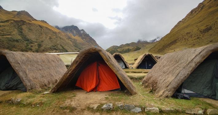 Unser Zelt am Salkantay Trek
