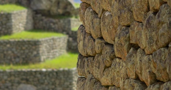 Altes Gemäuer in Machu Picchu