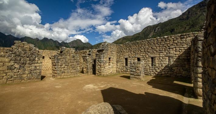 Überreste von Machu Picchu