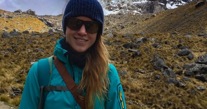 Kate auf dem Salkantay Trek