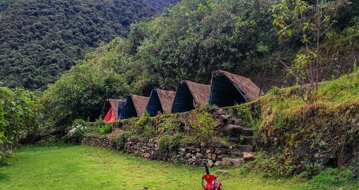 Zweites Camp vom Salkantay Trek
