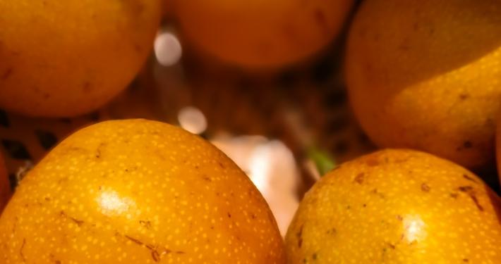 Passionsfrucht auf dem Salkantay Trek