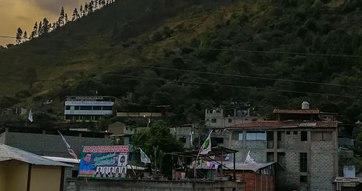 Santa Teresa am Salkantay Trek