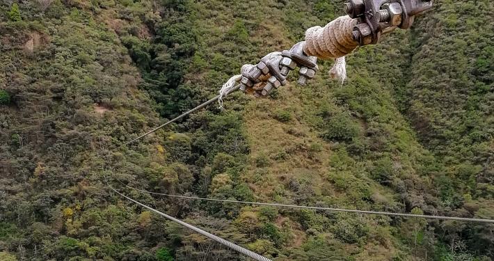 Vertical Zipline Salkantay Trek