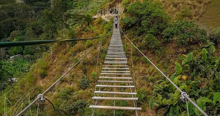 Hängebrücke Salkantay Trek