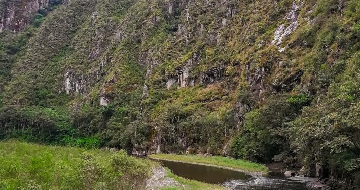 Landschaft Salkantay Trek