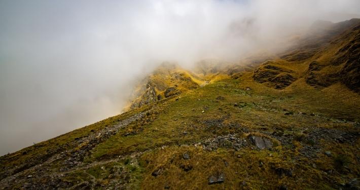 Nebel zieht auf am Salkantay