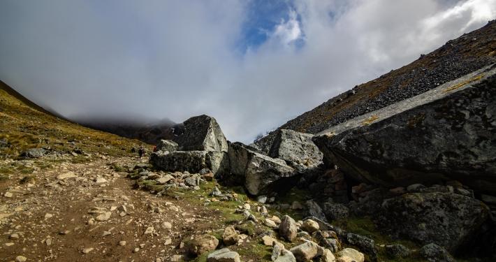 Hinauf zum Salkantay Pass