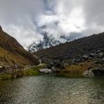 See auf dem Salkantay Trek