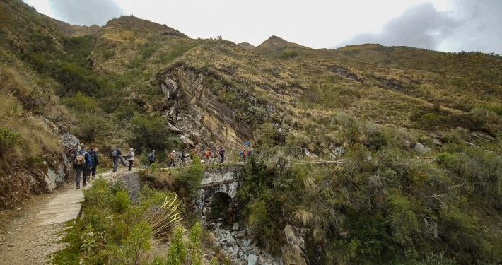 Brücke Salkantay Trek