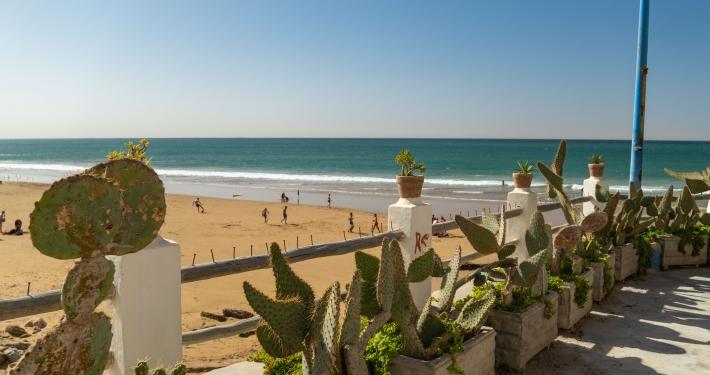 Strandpromenade Taghazout
