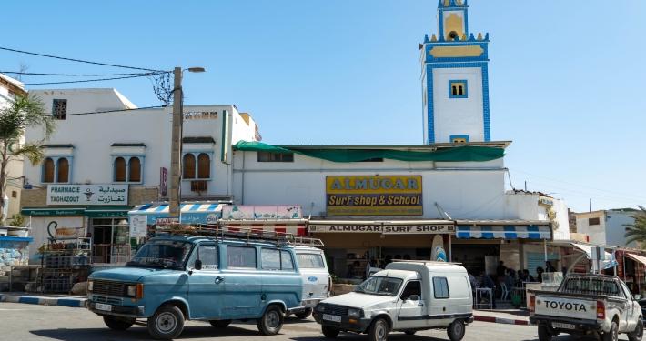 Zentrum von Taghazout