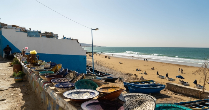 Souvenirstand in Taghazout