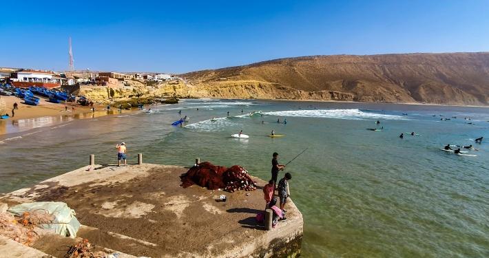 Surfen in Imsouane
