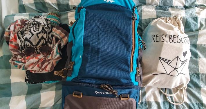 Packen für das Surfcamp